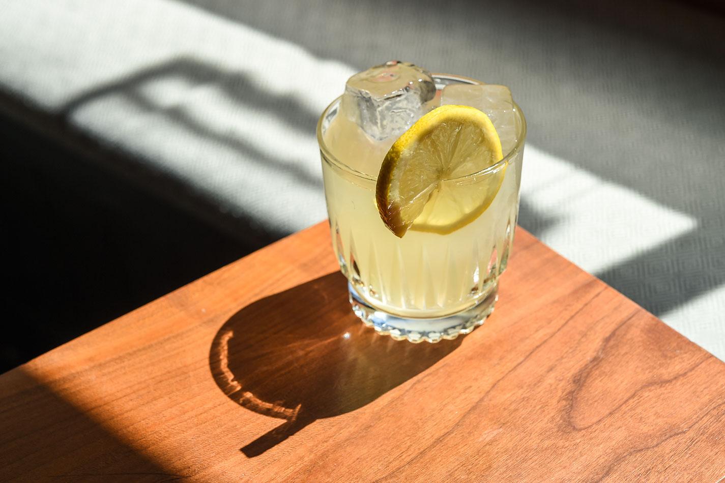 gin daisy old school cocktail recipe daniel krieger