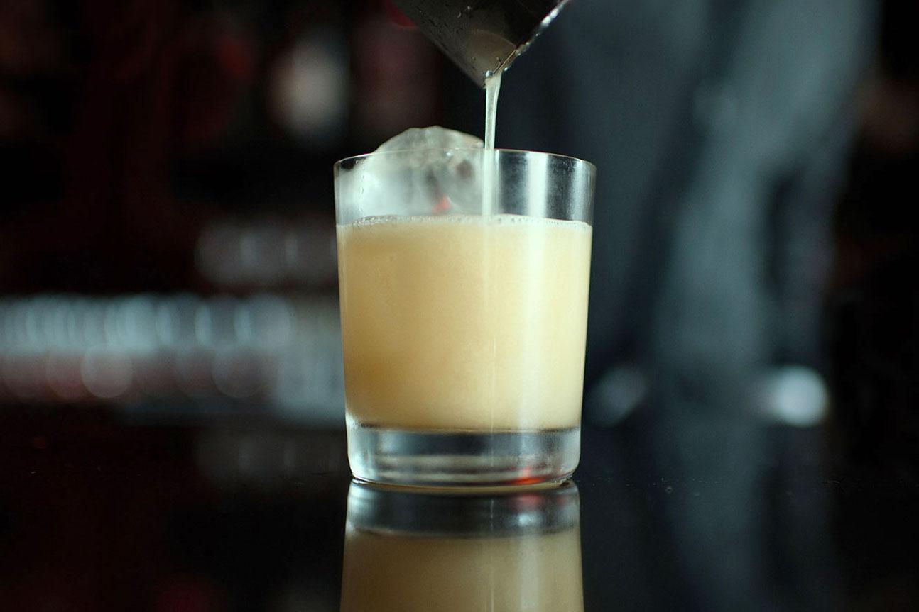 Amaretto Sour cocktail