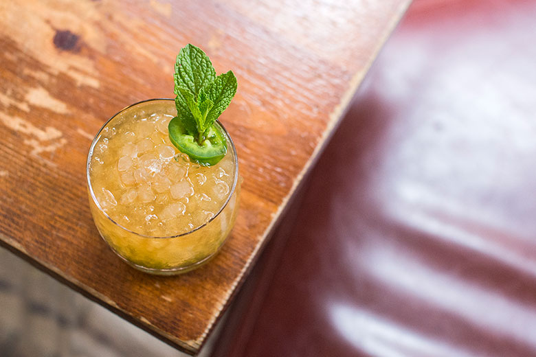 jalapeno julep cocktail recipe ed lee daniel krieger
