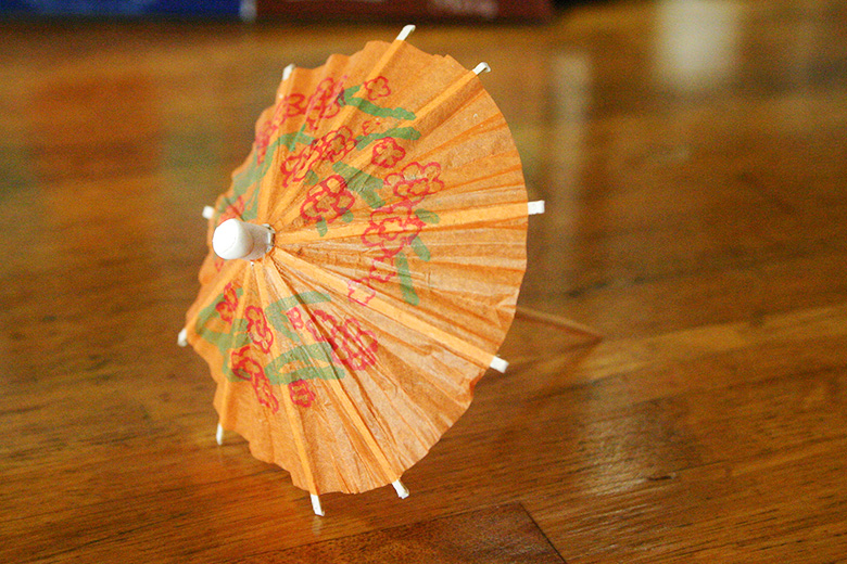 paper cocktail umbrella honolulu