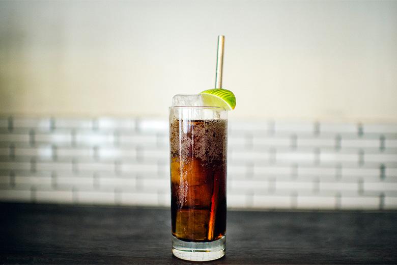 cuba libre coca cola rum cocktail recipe