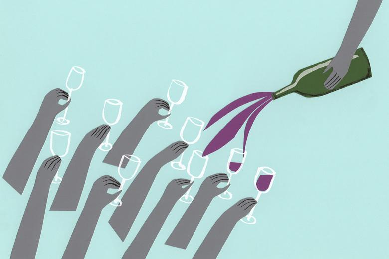 natural wine new era illustration