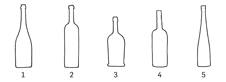 Wine Bottle Shapes
