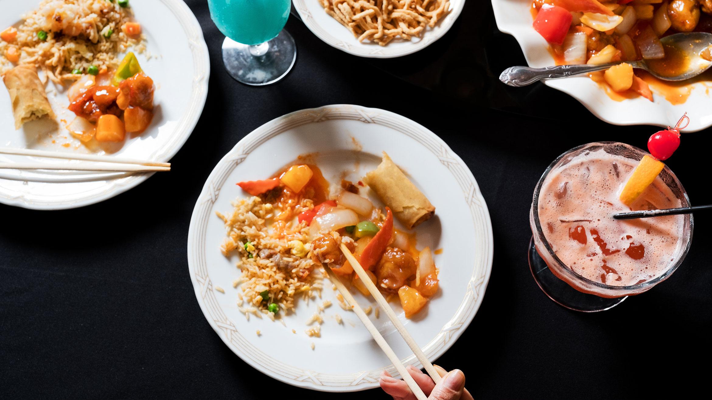 Chinese Twin Dragon Restaurant Tiki Cocktails