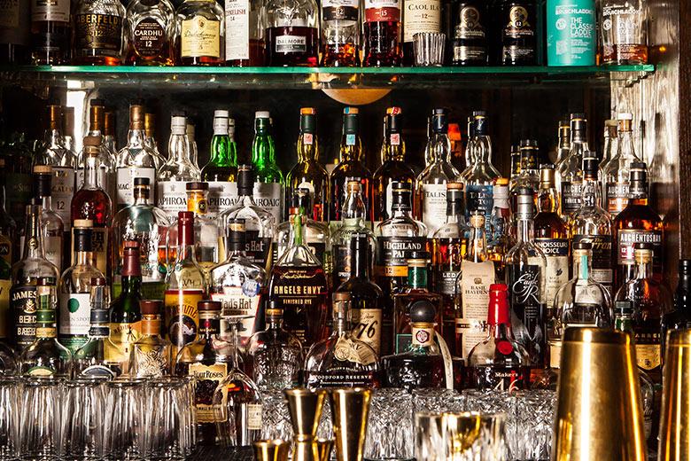 high end spirits cocktails