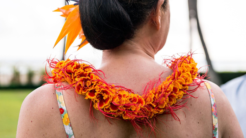 Hula Dancer Hawaii Halekulani