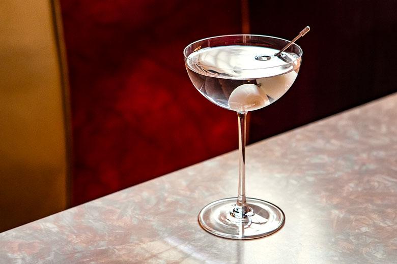 50 50 Martini Gibson Cocktail Recipe